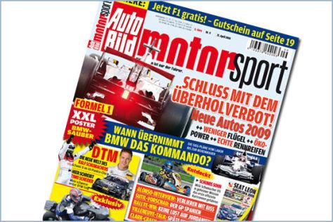 AUTO BILD MOTORSPORT 9/2008