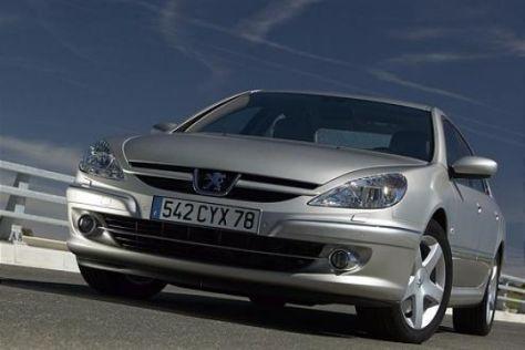 Modellpflege Peugeot 607