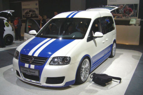 VW Volkswagen Caddy Speed