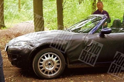 Erlkönig-Bilder vom Mazda MX-5