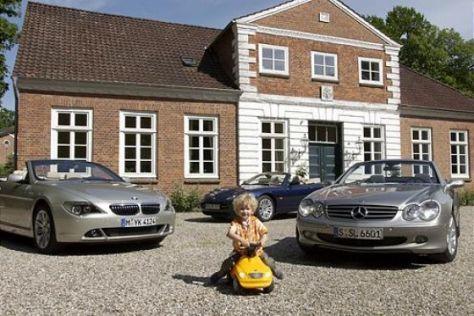 645 Ci Cabrio, XK8 Cabrio, SL 500