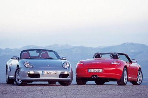 Porsche Boxster, 2. Generation