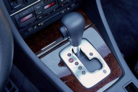 Audi mit Getriebe-Problemen