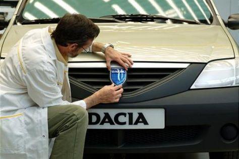 Dacia Logan für Westeuropa