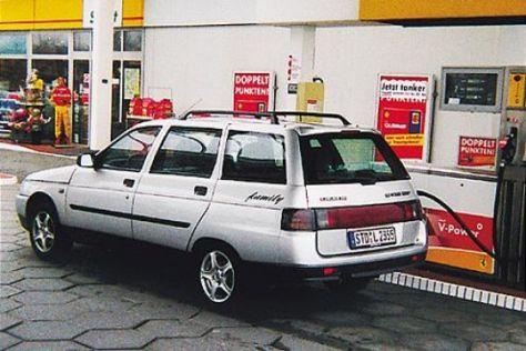 Lada 2111 mit Flüssiggasantrieb
