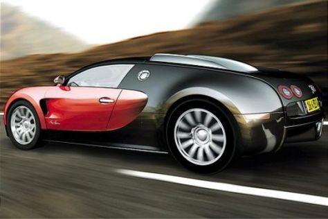 Bugatti Veyron mit Siebengang-DSG