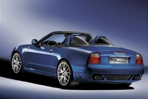 "Maserati Spyder ""Blue Anniversary"""