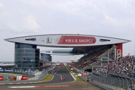 Formel-1-GP Shanghai 2004