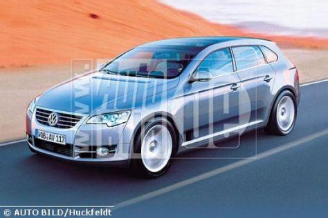 Oberklasse-Pläne bei VW