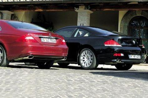 Mercedes-Benz CLS 500 gegen BMW 645 Ci