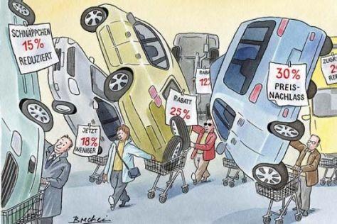 Mit Rabatten gegen die Autokrise