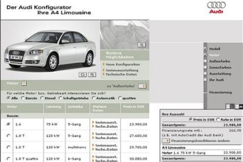 Beste Hersteller-Homepage