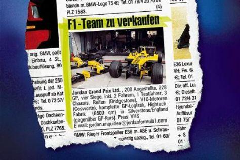 Formel 1 vor dem Ausverkauf