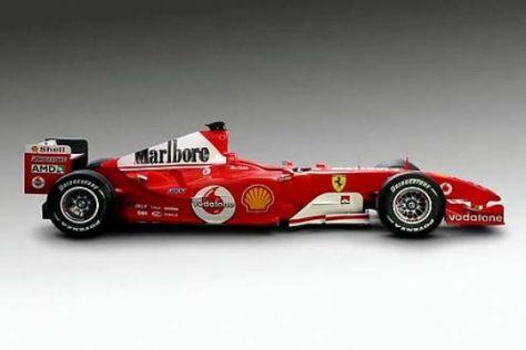 Formel-1-Ferrari als Dankeschön