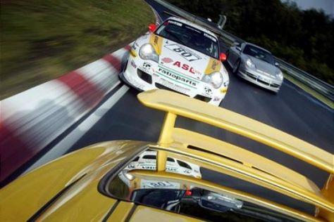 Dreimal GT3 auf dem Nürburgring