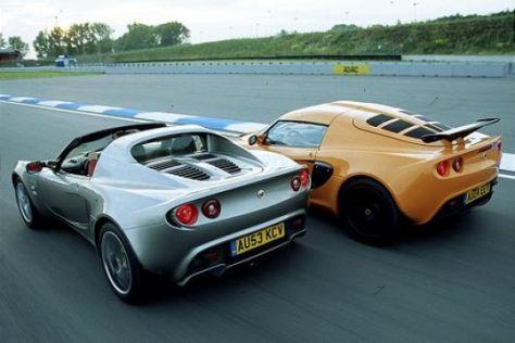 Lotus-Vergleich: Elise 111R gegen Exige