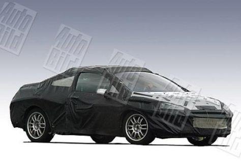 Erlkönig Peugeot 407 Coupé