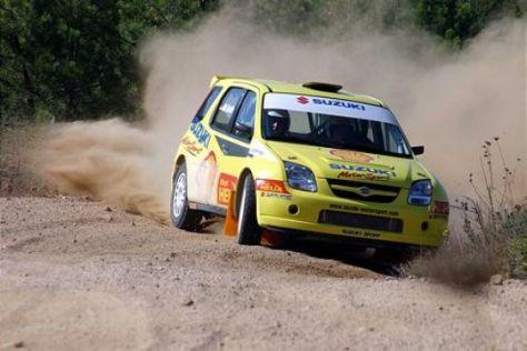 Rallye-Mitfahrt im Suzuki Ignis Super 1600