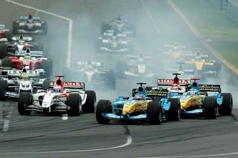 Formel-1-Konkurrenz