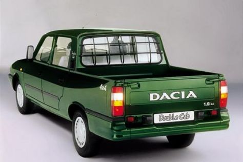 dacia pick up 4x4 autos post. Black Bedroom Furniture Sets. Home Design Ideas