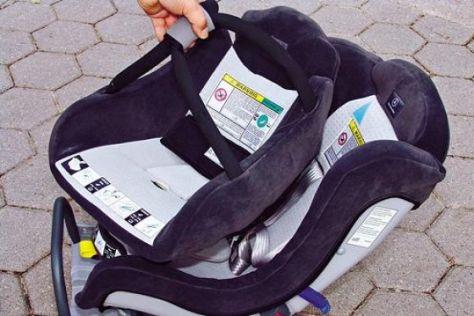 Praxistest Kindersitze