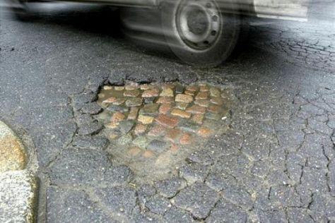 Umfrage zur Straßenqualität