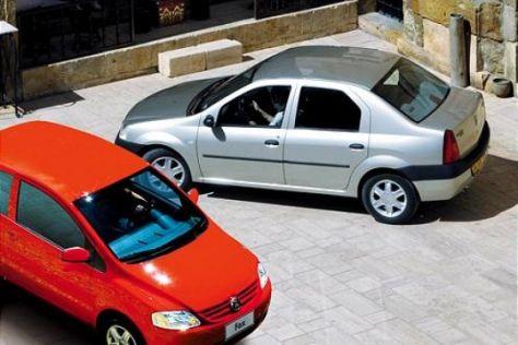 Fahrbericht Dacia Logan/VW Fox