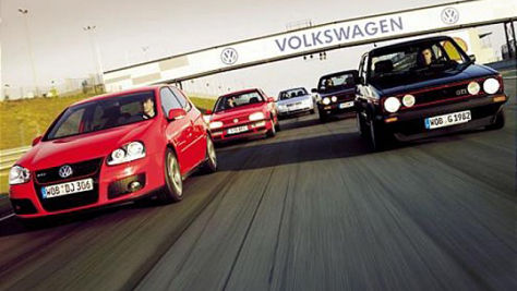 40 Jahre VW Golf GTI