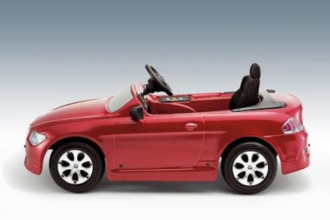 BMW 6er-Kindermodell