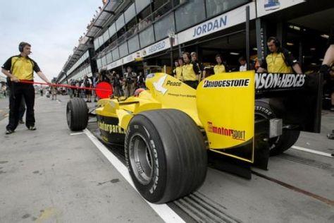 Toyota-Motoren fürs Jordan-Team
