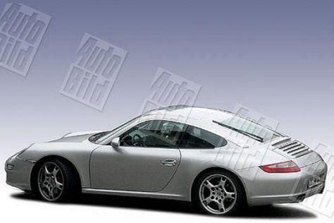 Porsche 997 Targa (Erlkönig)