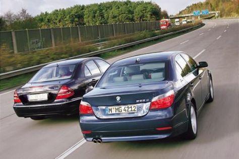 BMW 535d gegen Mercedes-Benz E 400 CDI