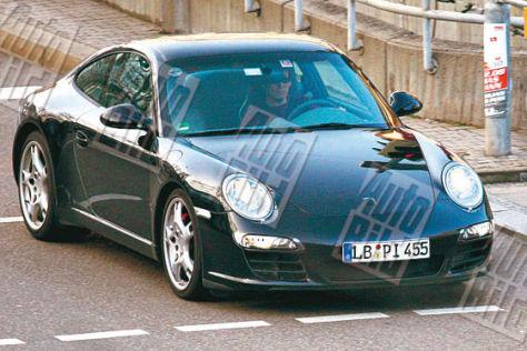 Porsche 911 Facelift Erlkönig