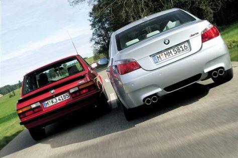 BMW M5 (1986) gegen M5 (2004)
