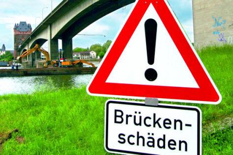 Brückenschäden