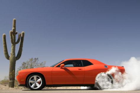 Test Dodge Challenger SRT8