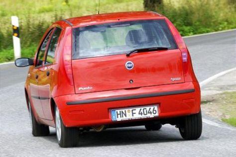 Vergleich Fiat Punto: Diesel gegen Erdgas