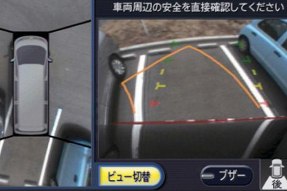 Parken aus der Vogelperspektive ermöglicht der das Nissan Park Around View-System.