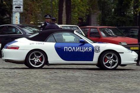 Polizei-Porsche
