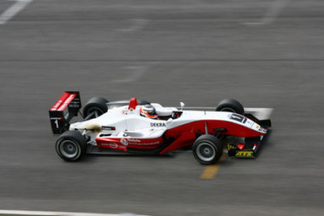Nico Hülkenberg, F3 Euroserie 2008, Mugello
