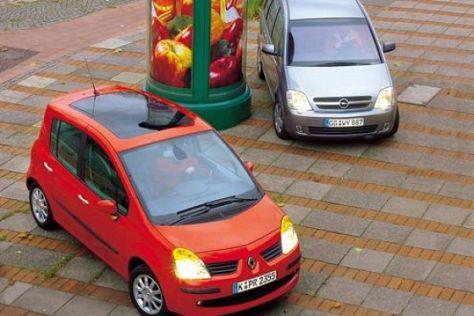 Opel Meriva 1.8 – Renault Modus 1.6