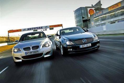 BMW M5 gegen Brabus CLS 6.1 S
