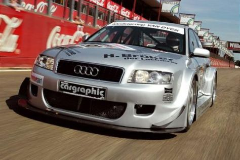 Tracktest Audi A4 von Rüdiger Noll