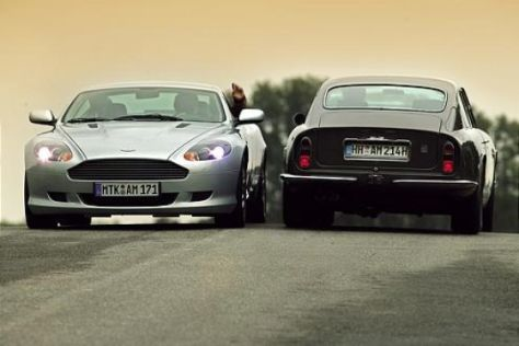 Aston Martin DB9 – DB6 Vantage