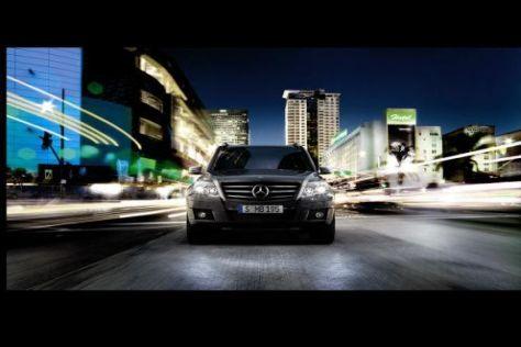 Das Design des neuen Mercedes GLK soll nach dem Willen des Herstellers Eingang in die Produktwelt finden