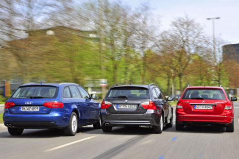 Audi A4 Avant 1.8 TFSI BMW 320i Touring Mercedes C 180 T Kompressor