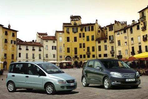 Honda FR-V gegen Fiat Multipla