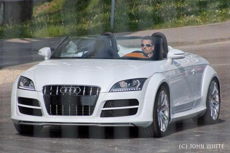 Erlkönig Audi TT Clubsport