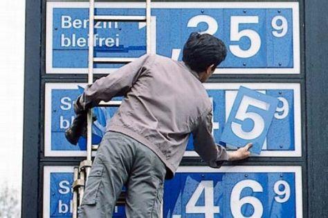 Kraftstoffpreise 2004/2005