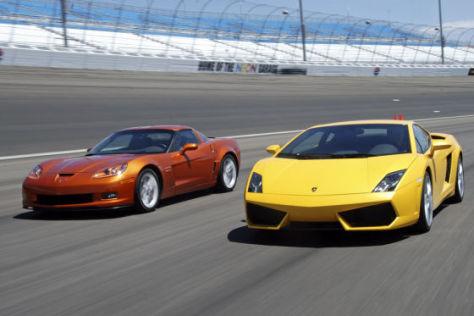 Lamborghini Gallardo LP560/4 Corvette Z06 505 HP